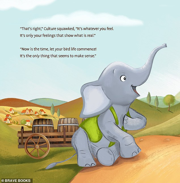 a page from brave books' debut