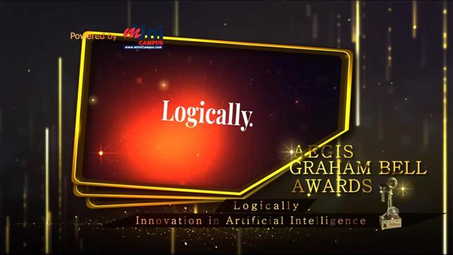 Logically wins AEGIS Graham Bell Award for Innovation in Artificial Intelligence