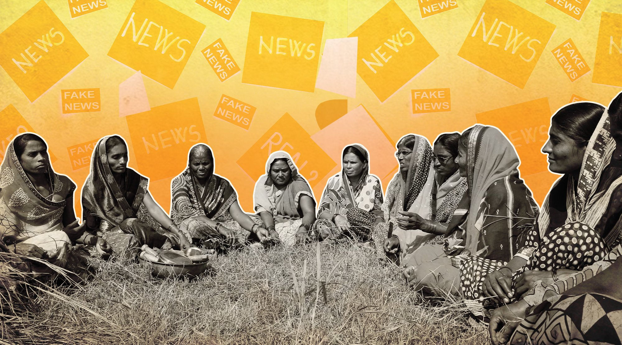 How Women In Rural India Are Learning To Fight Misinformation