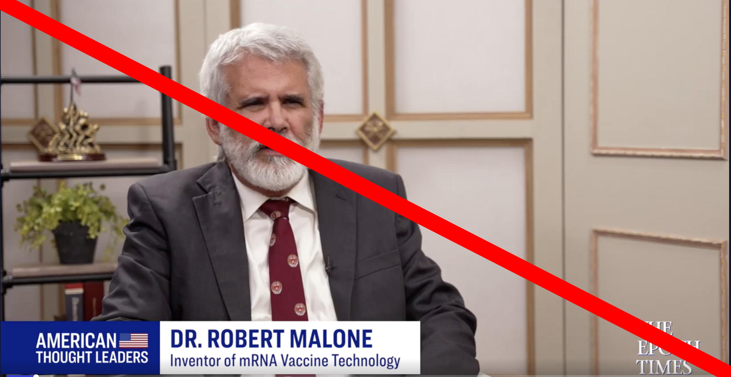 Double Check: Who Is Dr. Robert Malone?