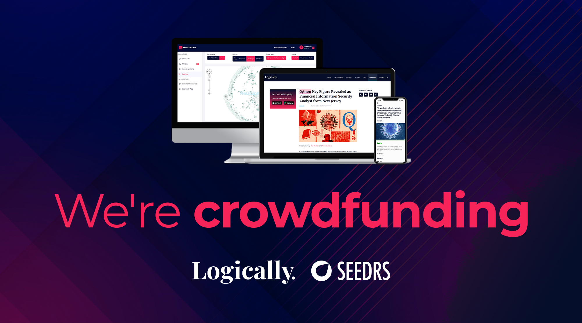 Logically Crowdfunding Seedrs Campaign