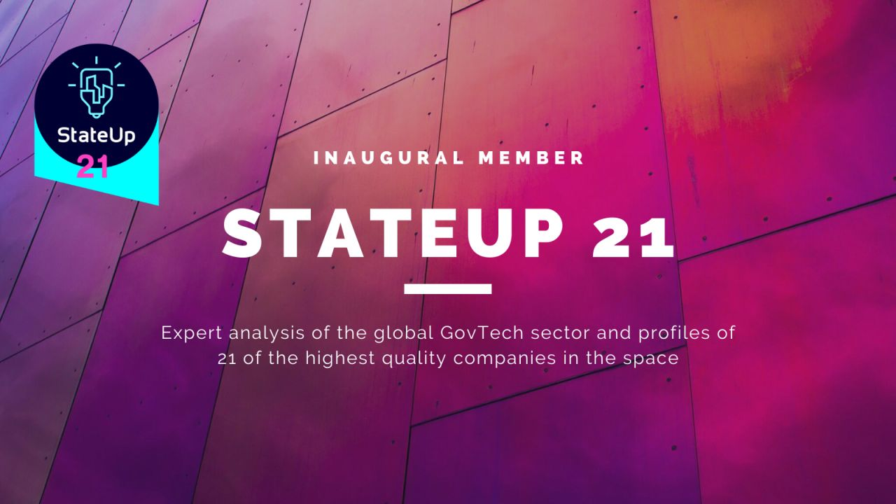 Logically announced as one of StateUp'sleadingGovTech startups