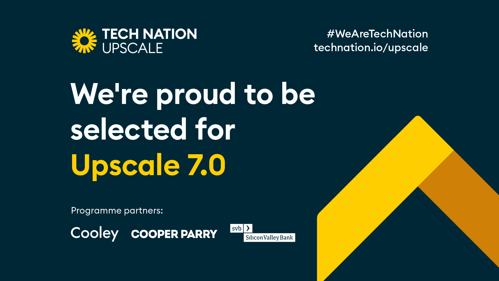 Logically selected for Tech Nation Upscale 7.0