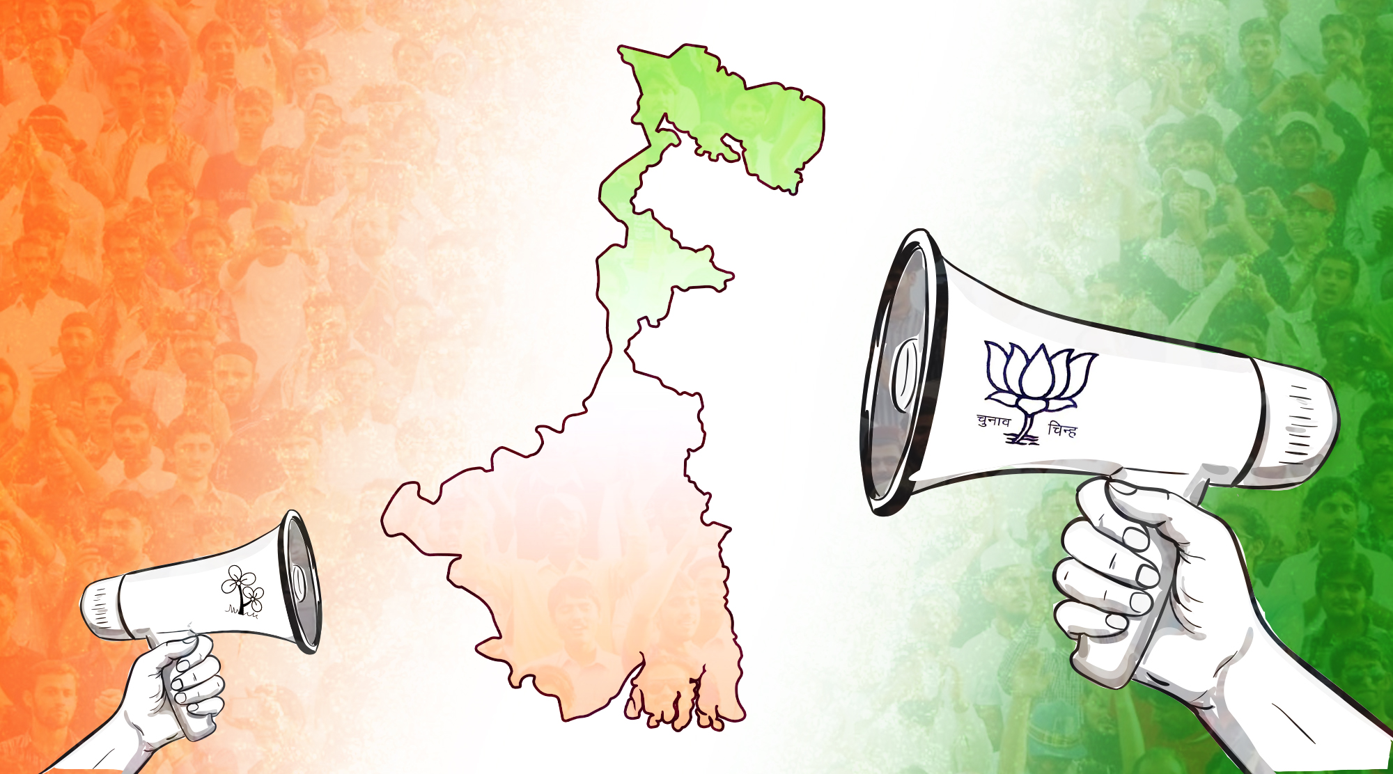 A Prelude to the West Bengal Election Disinformation Campaigns