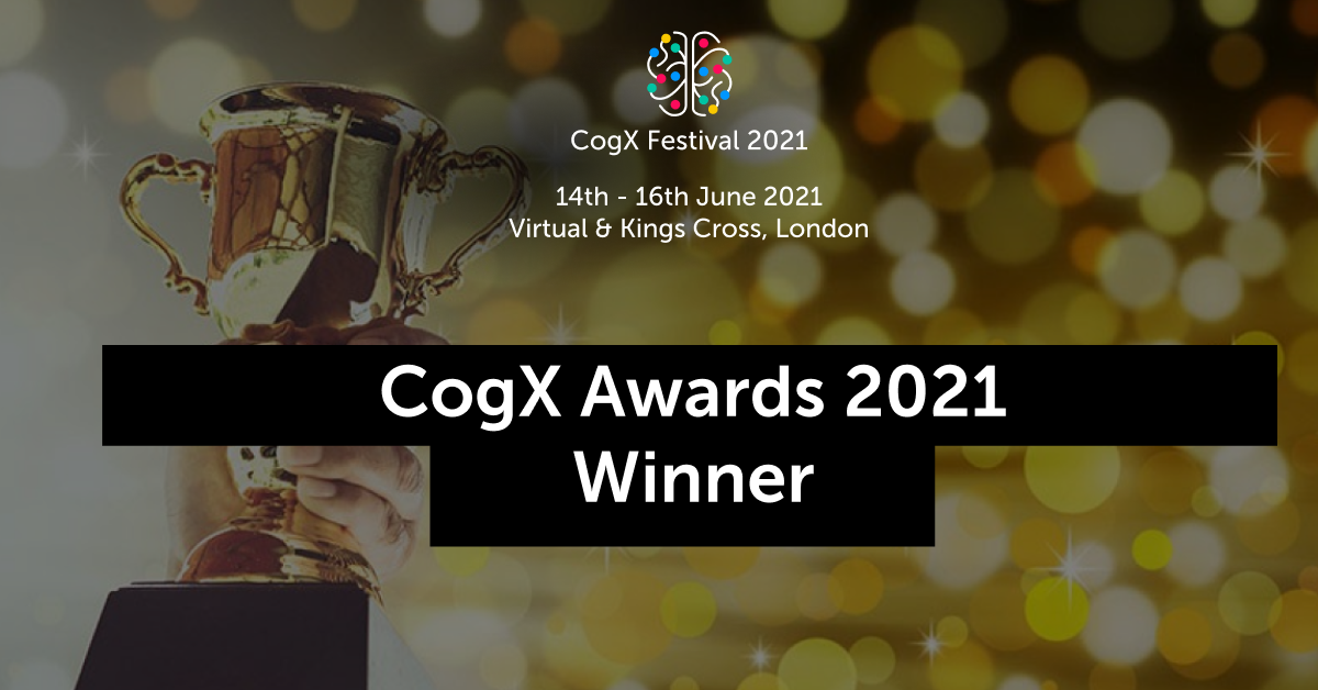 Logically wins the Rising Star in Techaward at the CogX Awards 2021