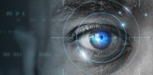 retinal-biometrics-technology-with-man-s-eye-digital-remix