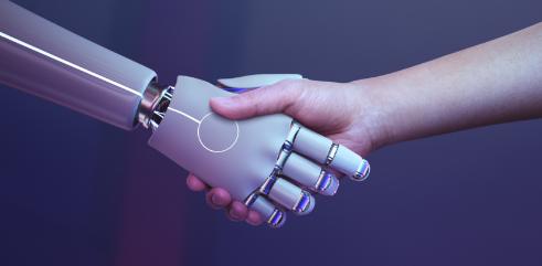 robot-handshake-human-background-futuristic-digital-age